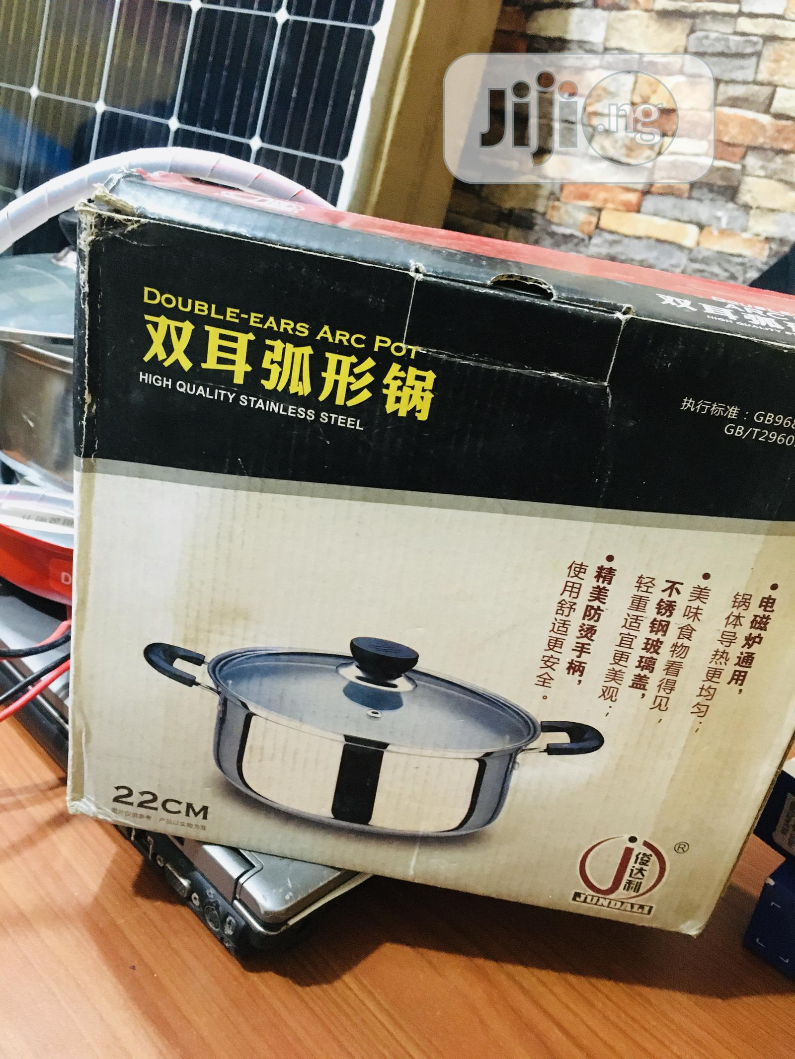 12v DC Solar Stove With Pot Available With 1yr Warranty   Solar Energy for sale in Ojo, Lagos State, Nigeria