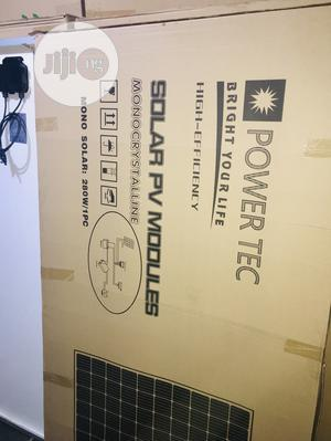 280w Power Tec Solar Panel Available With 35yrs Warranty   Solar Energy for sale in Lagos State, Lekki