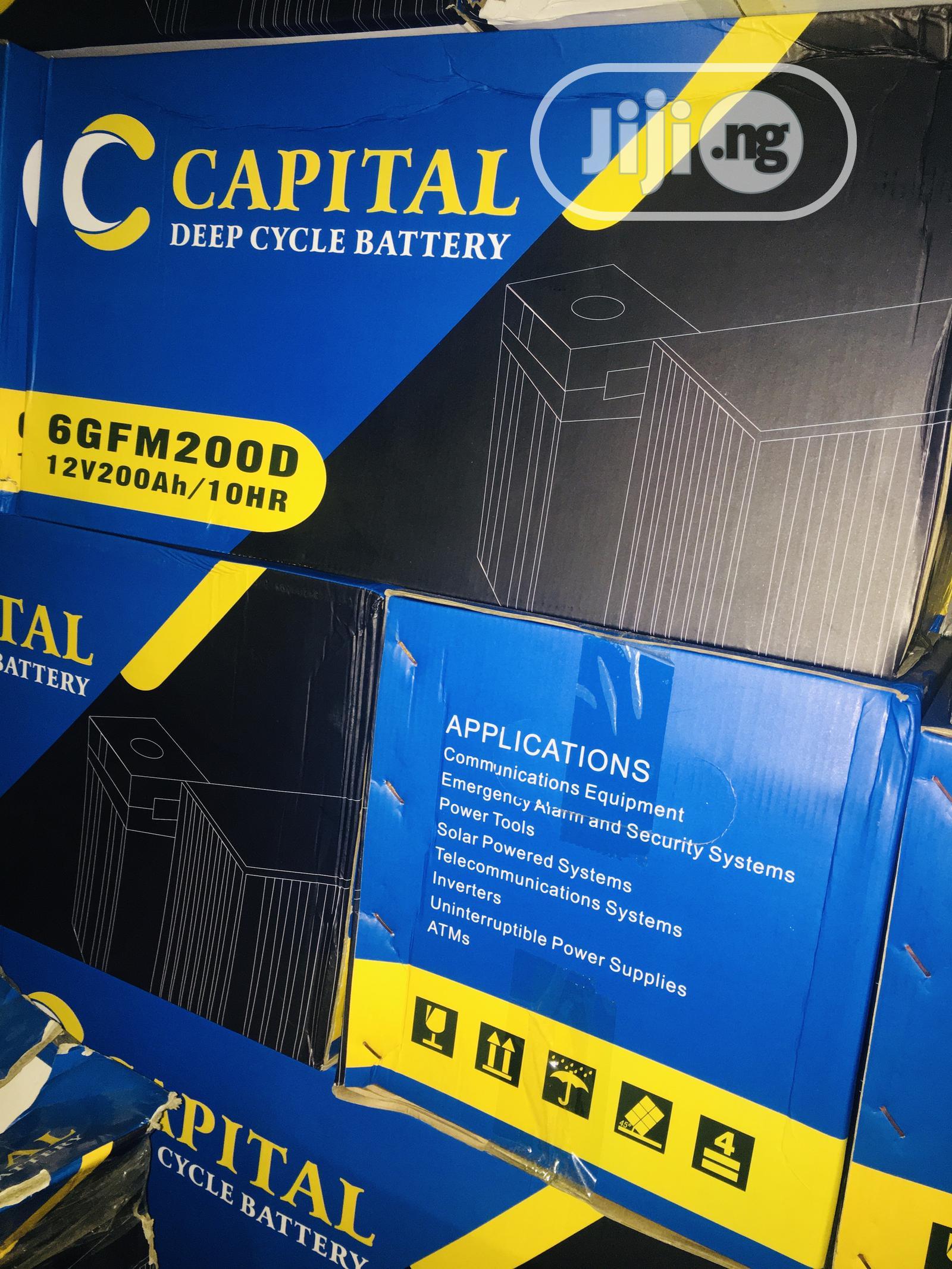 200ah 12v Capital Battery Available With 1yr Warranty