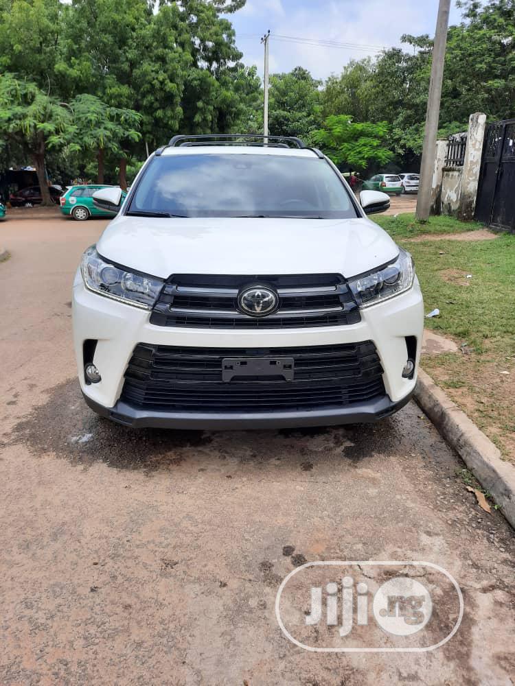 Toyota Highlander 2018 White