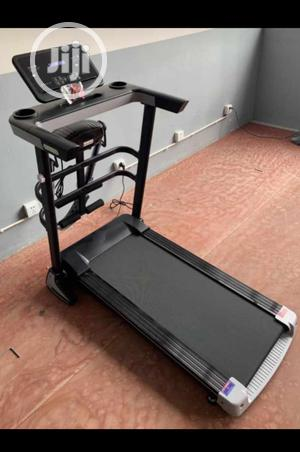 Body Fit Treadmill With Massager and Dumbbell and LCD Screen   Sports Equipment for sale in Lagos State, Lekki