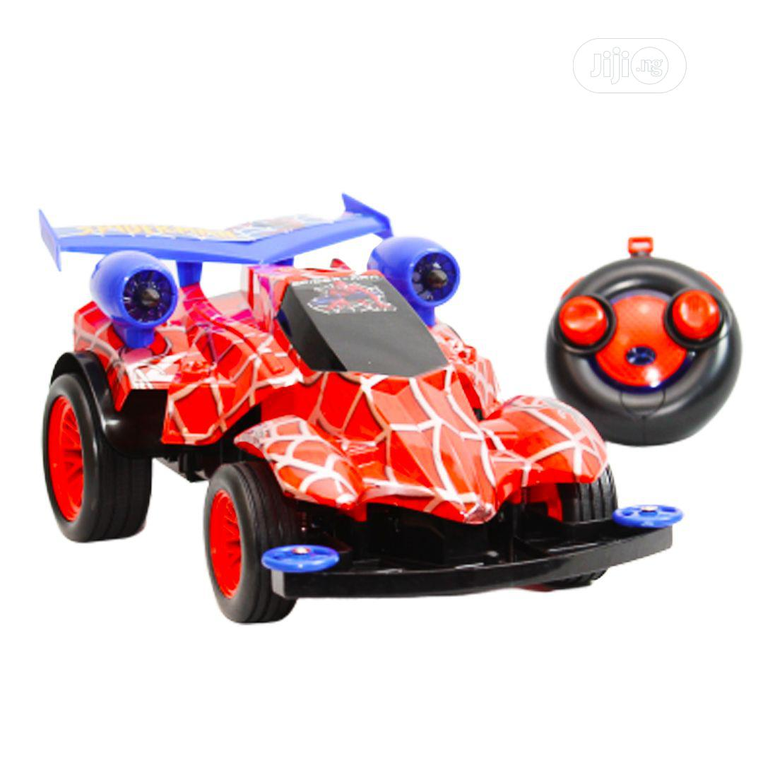 Big Spiderman Sport Car