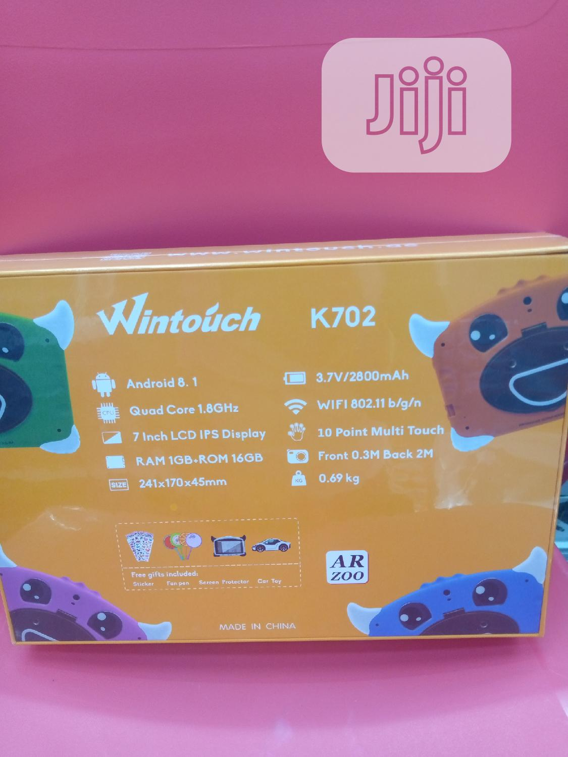 New Wintouch K72 16 GB | Tablets for sale in Ikeja, Lagos State, Nigeria