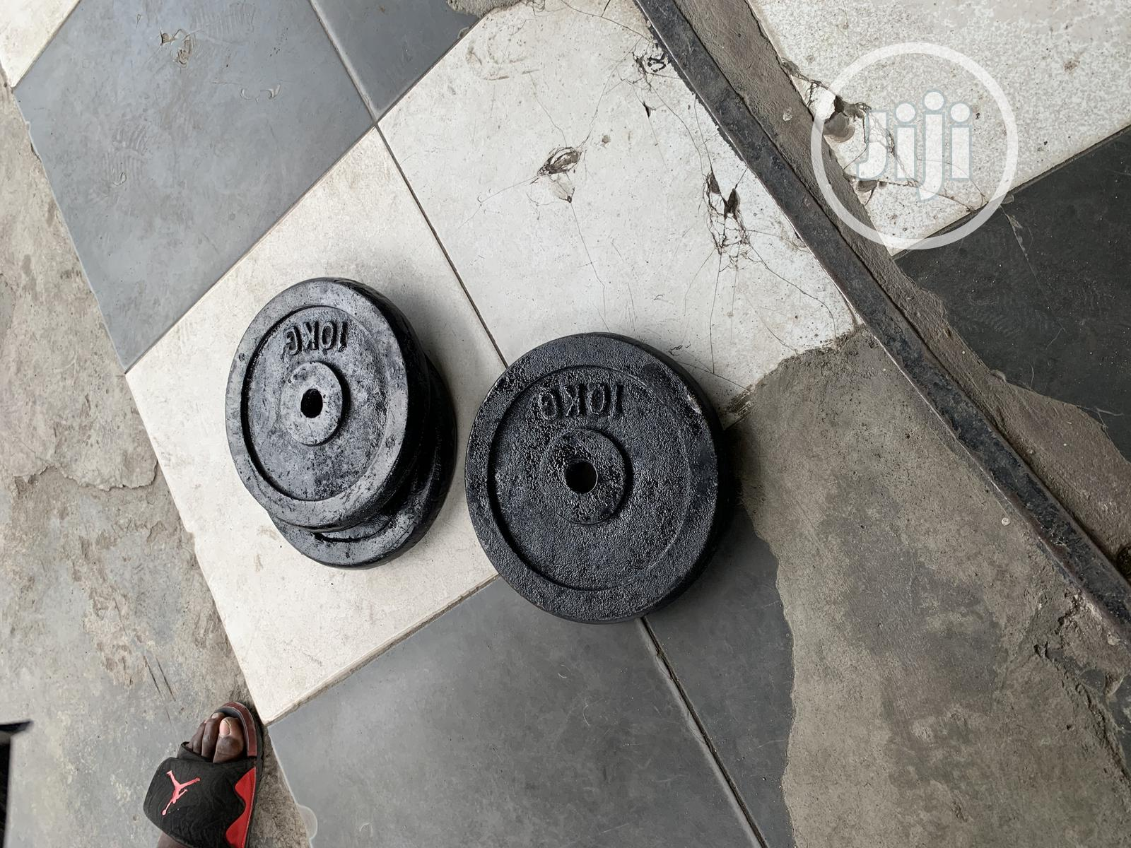 Locally Made Barbell Plate