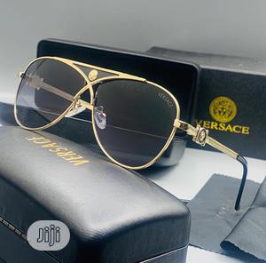 Original Versace Sunglasses Gold | Clothing Accessories for sale in Lagos State, Lagos Island (Eko)