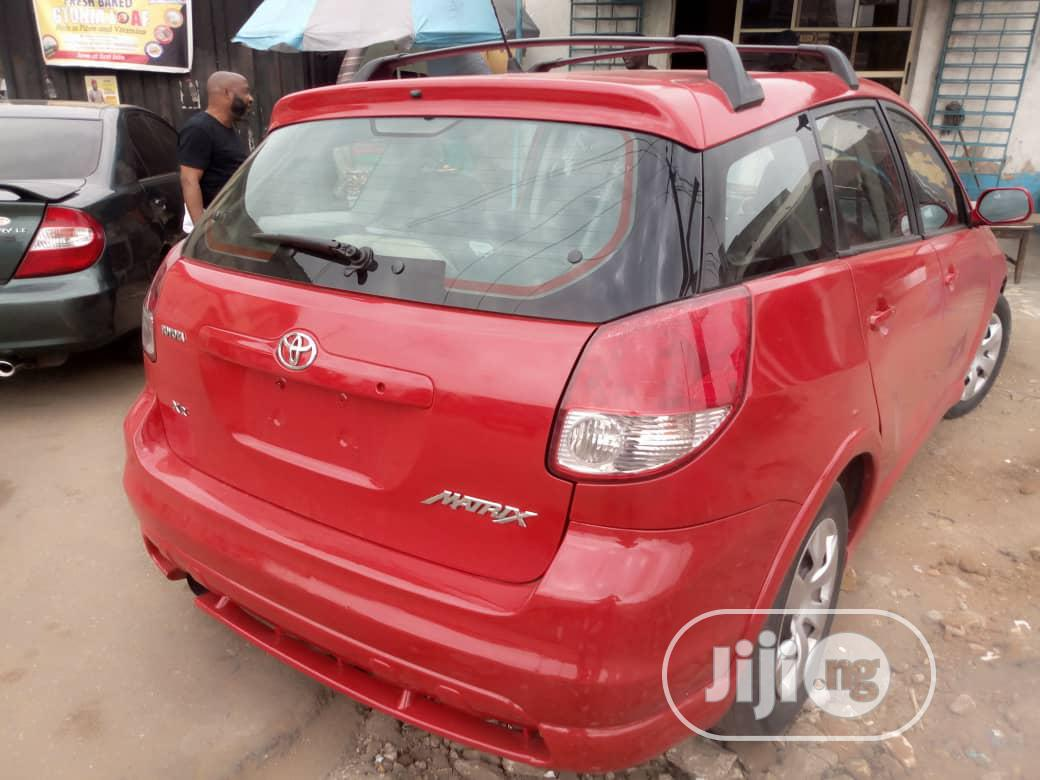 Toyota Matrix 2004 Red In Ikorodu Cars Seyi Lawal Jiji Ng For Sale In Ikorodu Buy Cars From Seyi Lawal On Jiji Ng