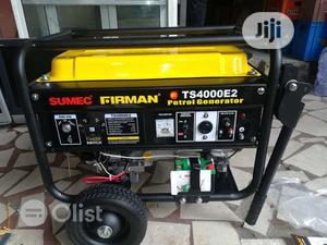 Brand New Sumec Fireman 3.5KVA,  Per Coper,Key Starter | Home Appliances for sale in Lagos State, Ojo