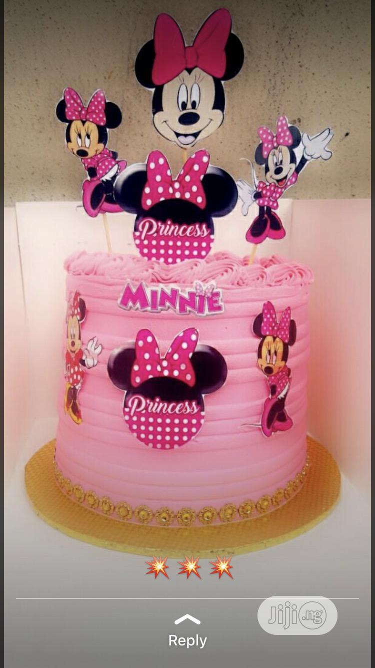 Minnie Cake For Princess