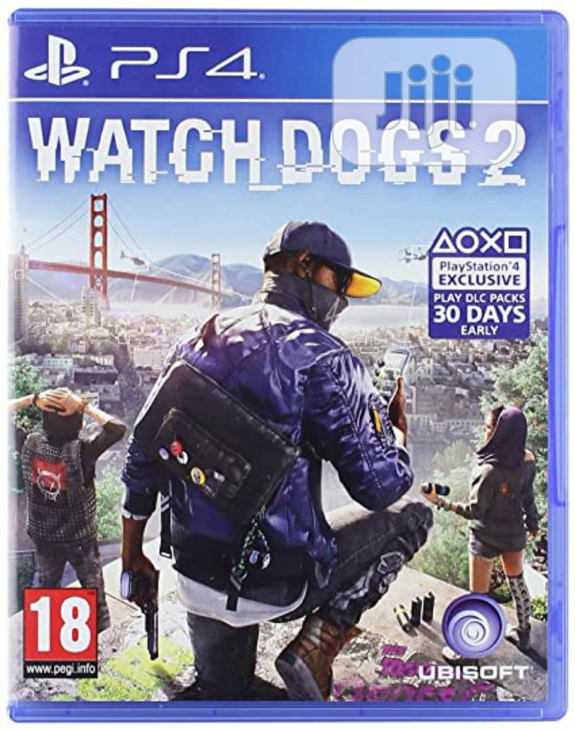 Watchdog 2 for PS4