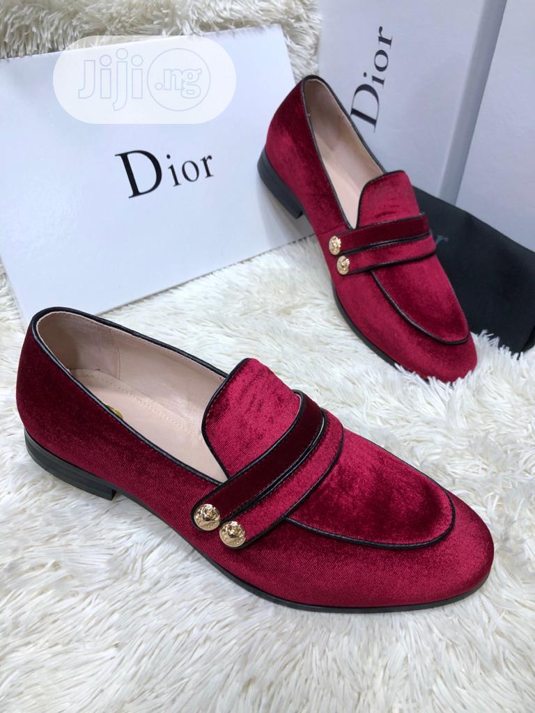 Dior Suede Shoe For Men