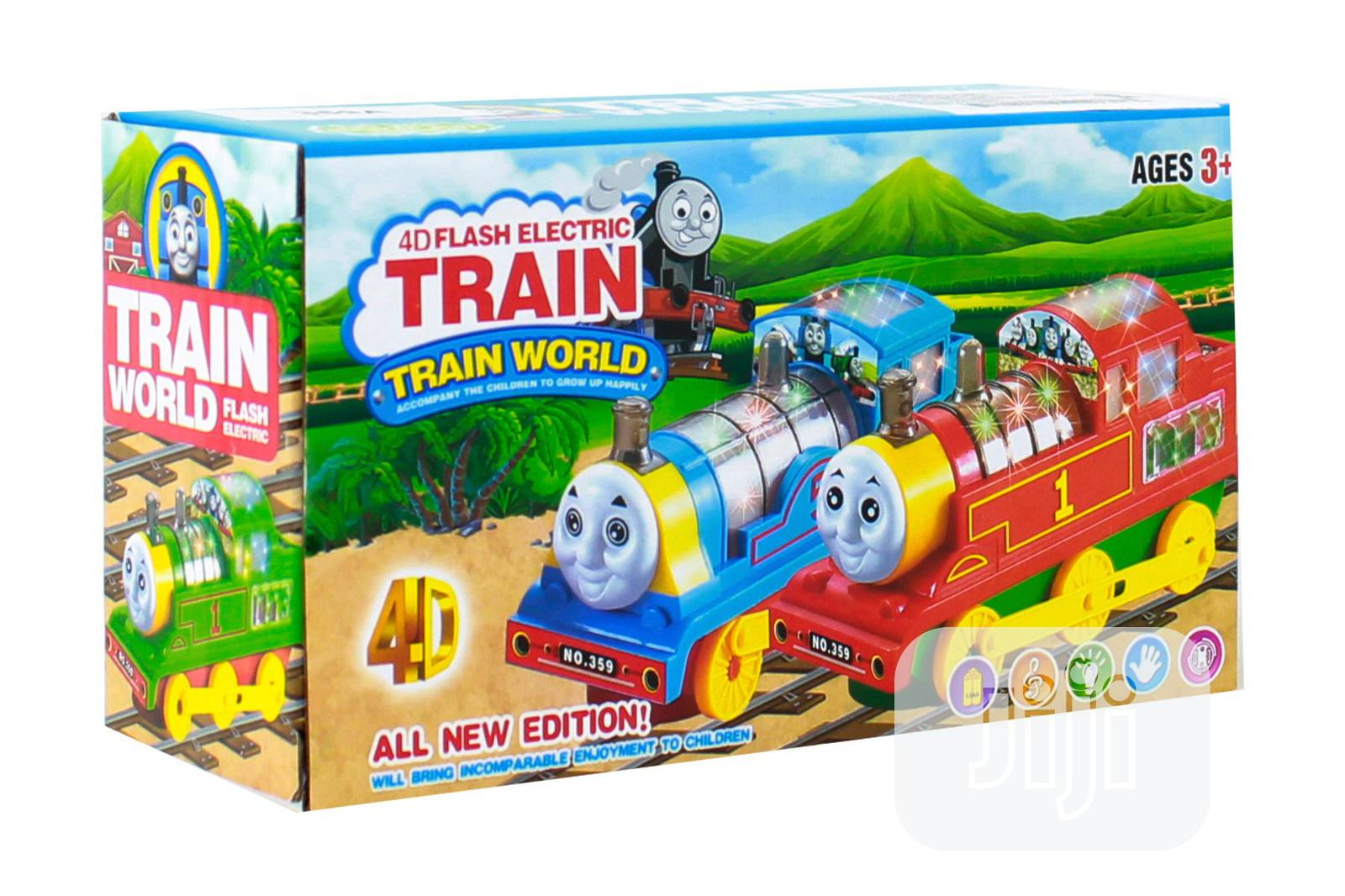 4D Flash Electric Train