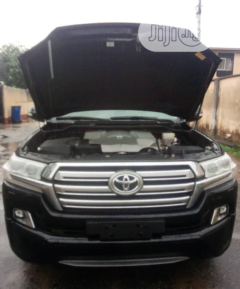 Toyota Land Cruiser 2016 Black | Cars for sale in Lekki, Lagos State, Nigeria