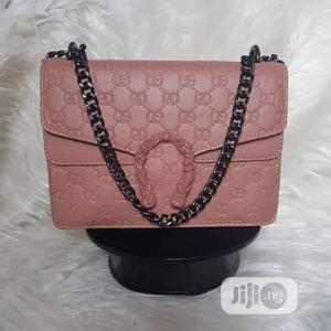 Gucci Pink Designer's Handbag. | Bags for sale in Lagos State, Ajah