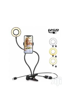 Selfie Ring Light With Phone Holder | Accessories for Mobile Phones & Tablets for sale in Lagos State, Amuwo-Odofin