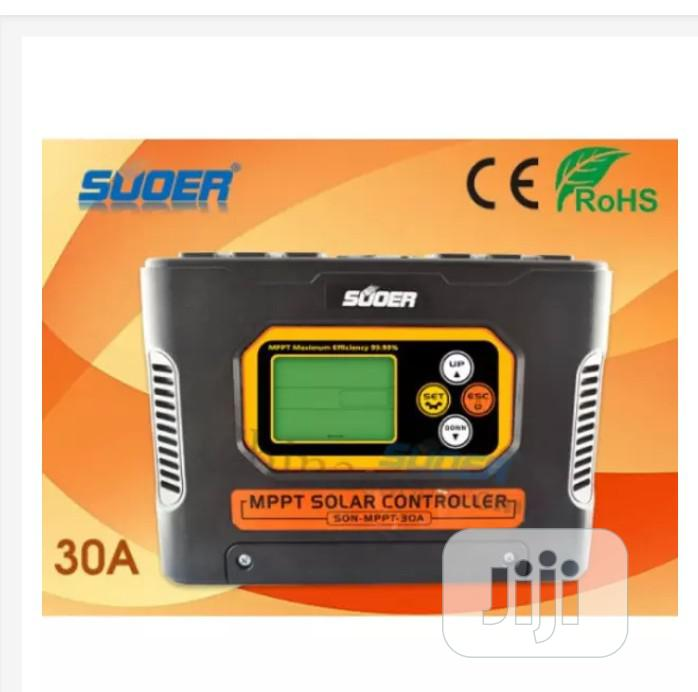 Suoer Mppt Solar Charge Controller 12v 24v 48v 30a