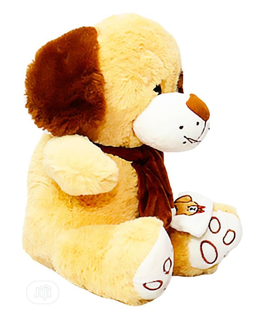 Archive: Teddy Bear With Fluffy Beautiful Ears