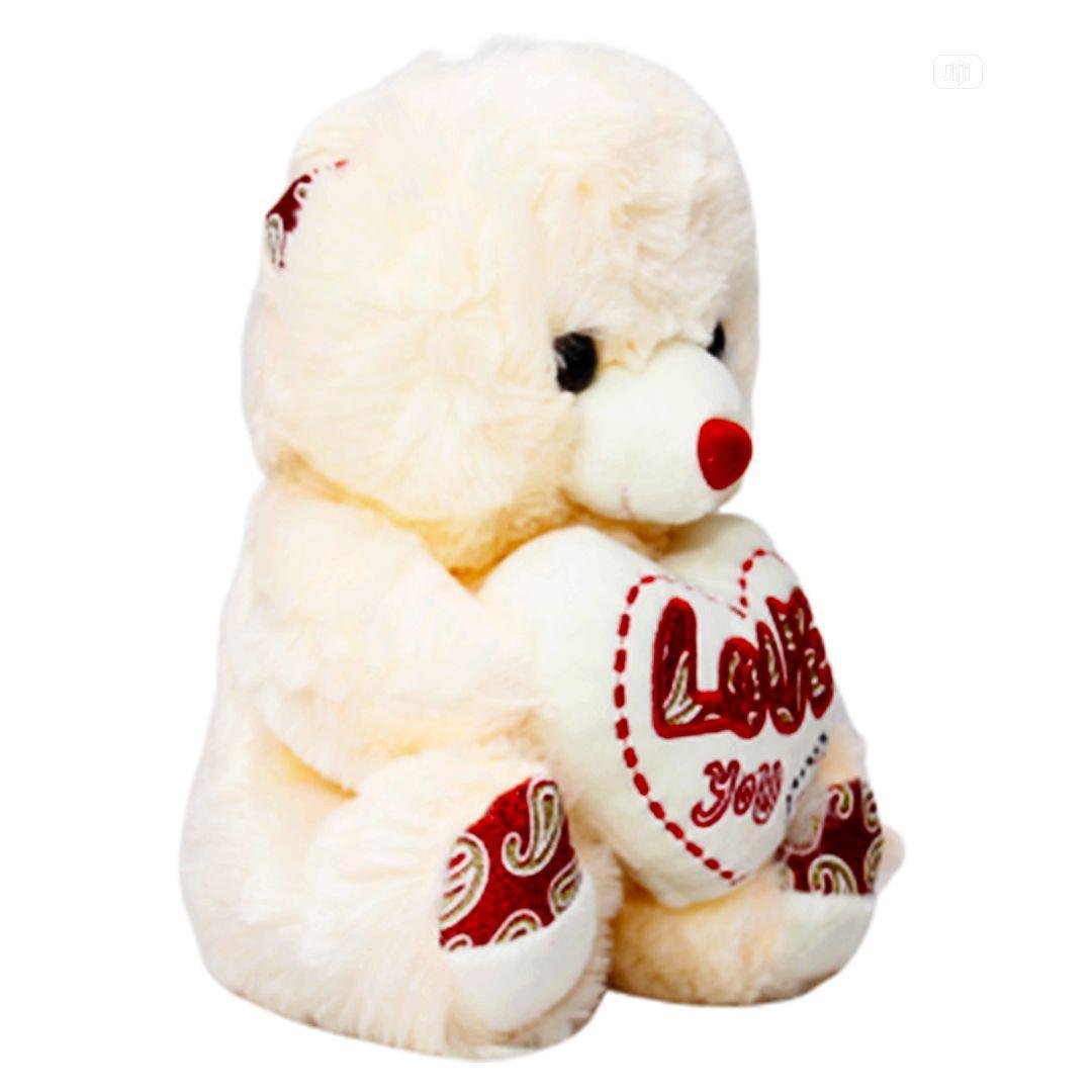 Archive: Beautiful Cream Fluffy Teddy Bear