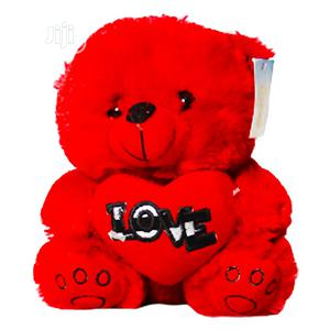 Fluffy Red Beautiful Teddy Bear | Toys for sale in Lagos State, Amuwo-Odofin