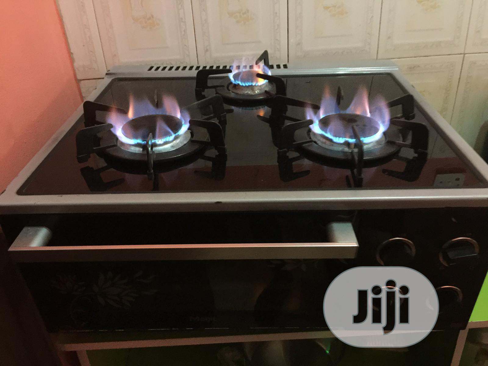 Uk Used Table Top Gas Cooker With Oven | Kitchen Appliances for sale in Maryland, Lagos State, Nigeria