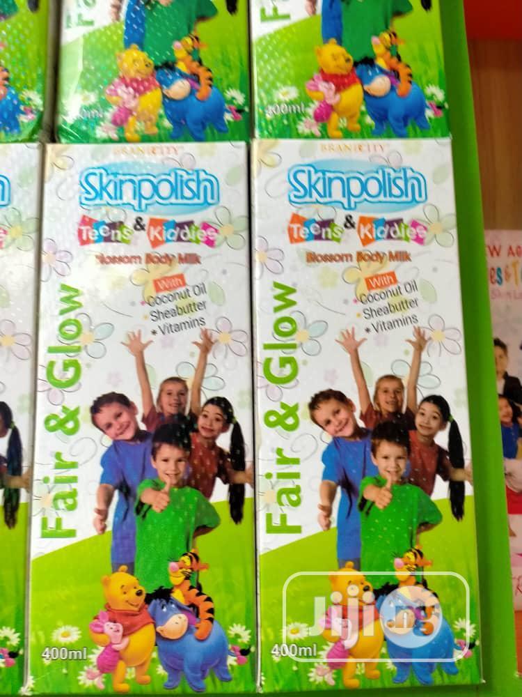 Skin Polish Teens And Kiddies Body Milk