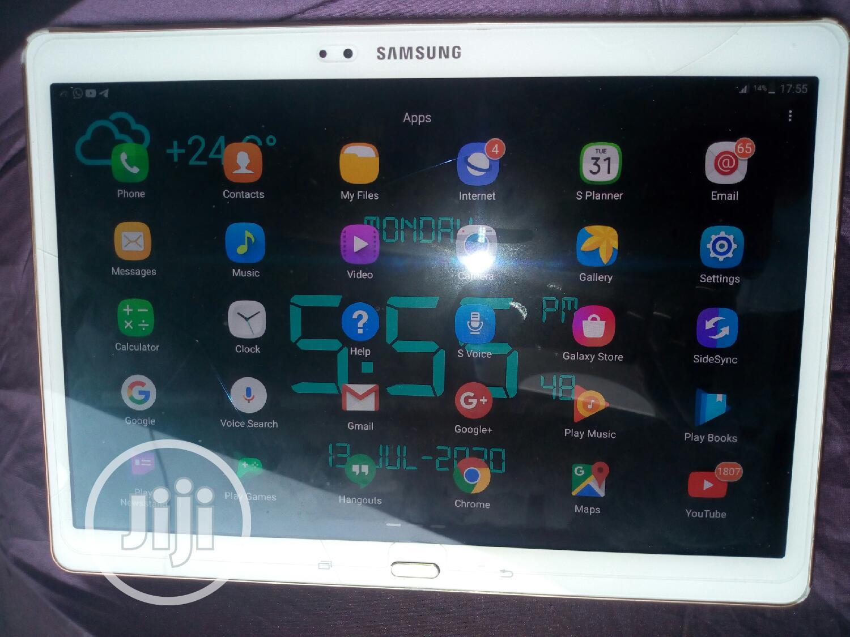 Samsung Galaxy Tab S 10.5 LTE 16 GB White