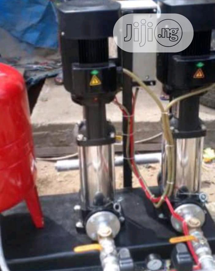 Coupled Sewage Pump