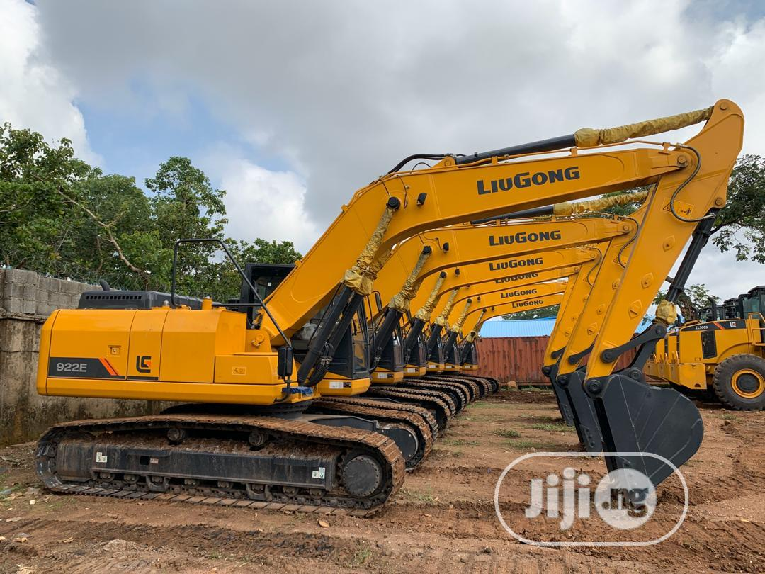 Liugong Excavator And Wheel Loader