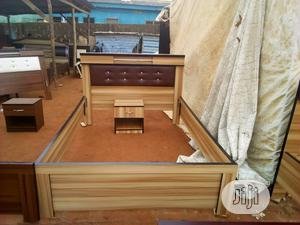 4.5 Wooden Bed Frame | Furniture for sale in Lagos State, Ikeja
