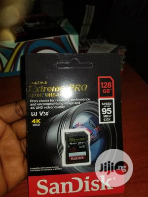 Extreme Pro Sandisk 128gb Camera Memory | Accessories & Supplies for Electronics for sale in Lagos State, Ikeja