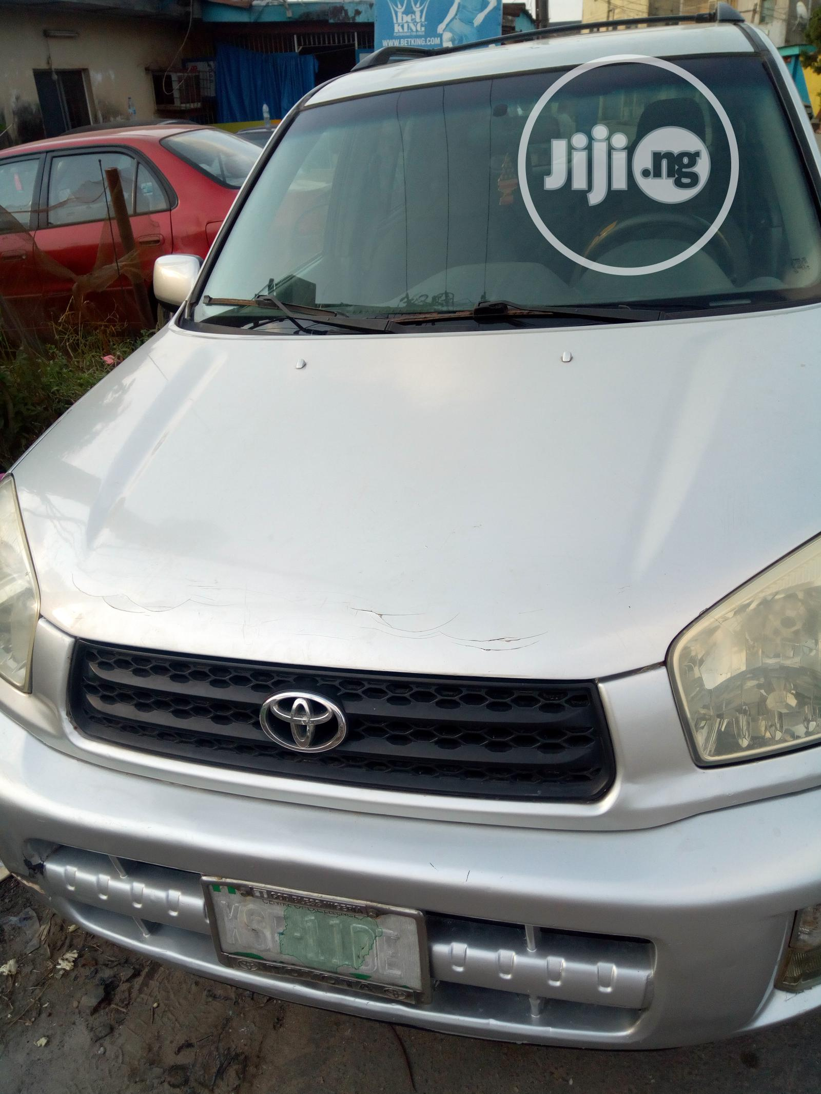 Toyota RAV4 2003 Silver in Gbagada - Cars, Fitness Program ...
