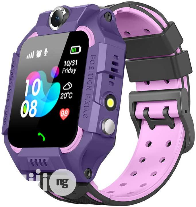 Kid's Smart Watch Children's Tracker (Z6) | Smart Watches & Trackers for sale in Ikeja, Lagos State, Nigeria