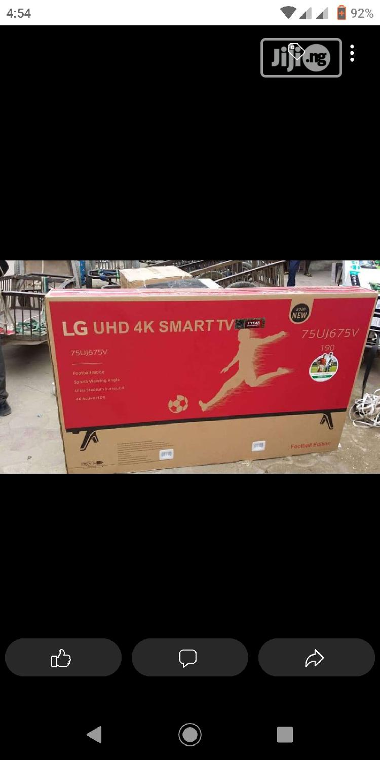 """Brand New 75""""-Inch 4K Ultra HD Television Android Wifi+Mount"""