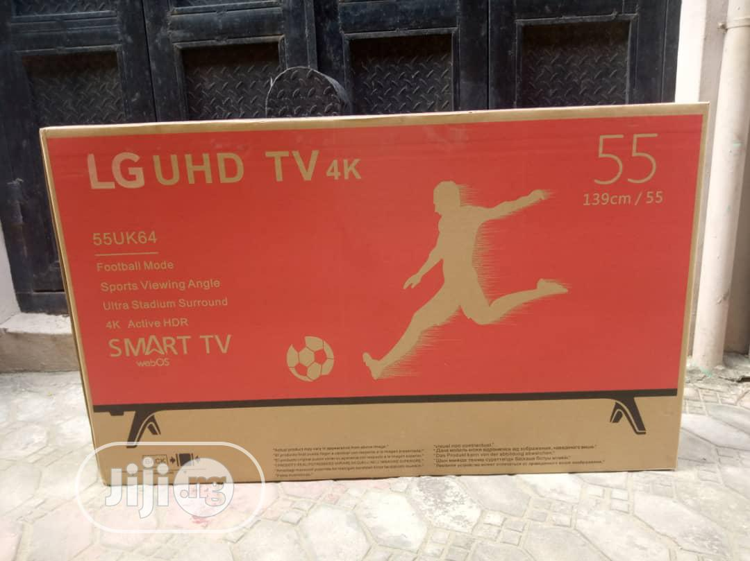 Brand New LG 55inches. Smart TV | TV & DVD Equipment for sale in Port-Harcourt, Rivers State, Nigeria