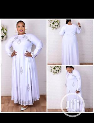 New Female White Abaya With Scarf   Clothing for sale in Lagos State, Lagos Island (Eko)