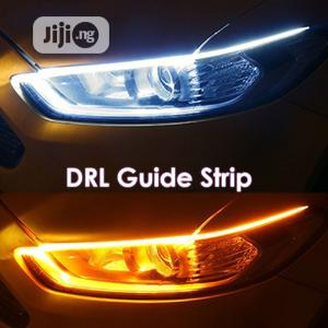 Led Strip 2x Car DRL Headlight Sticker Daytime Run Lights   Vehicle Parts & Accessories for sale in Lagos State, Lagos Island (Eko)