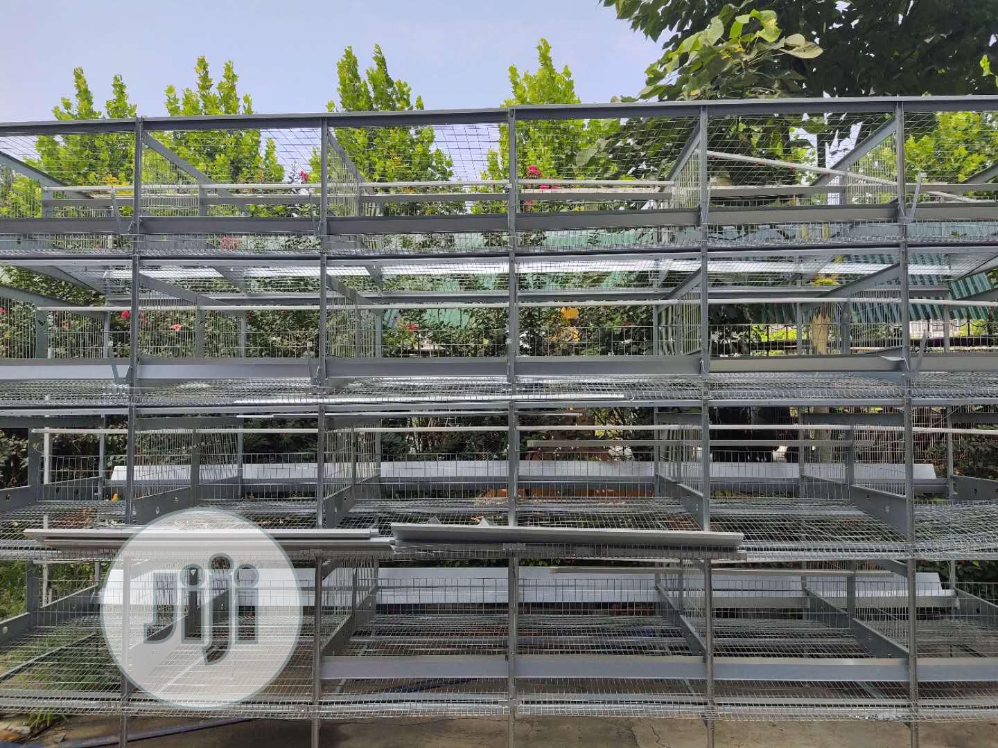 Battery Cages For Layers Pure Hotdipped Galvanized Material. | Farm Machinery & Equipment for sale in Ikotun/Igando, Lagos State, Nigeria