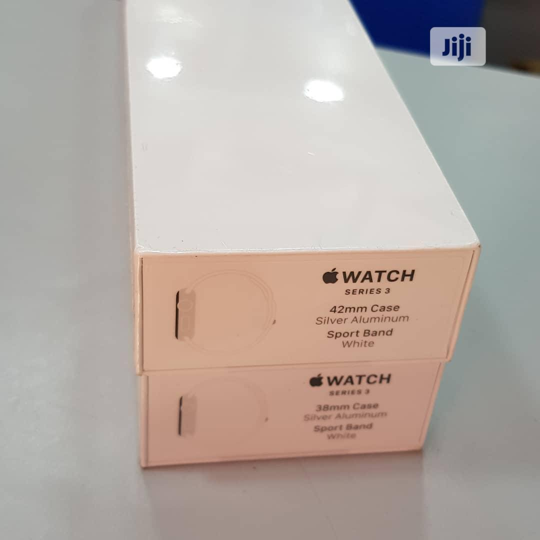 Apple Iwatch 42mm Series 3 Sport Brand GPS | Smart Watches & Trackers for sale in Ikeja, Lagos State, Nigeria