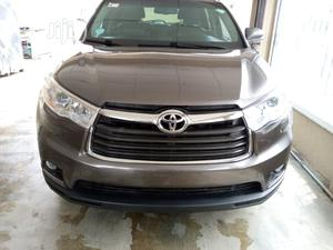 Toyota Highlander 2016 Brown   Cars for sale in Lagos State, Surulere