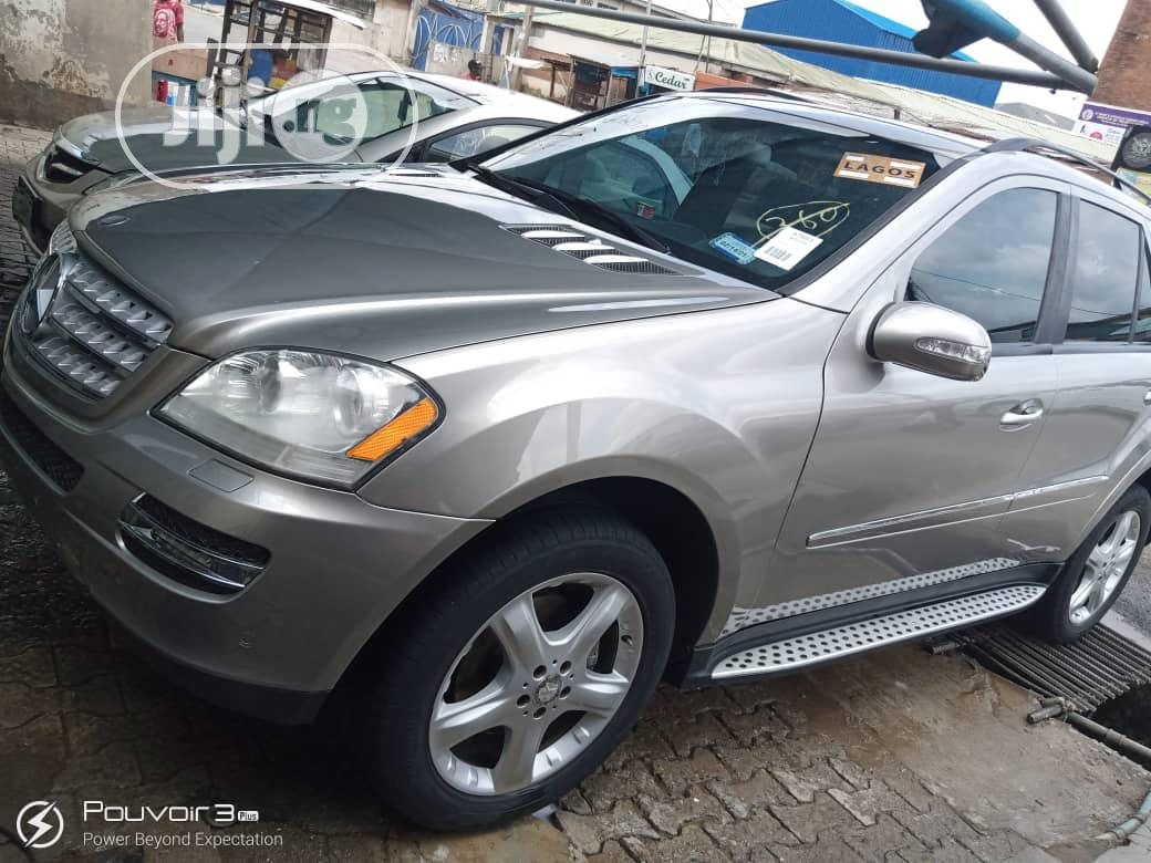 Mercedes-Benz M Class 2008 Silver | Cars for sale in Isolo, Lagos State, Nigeria