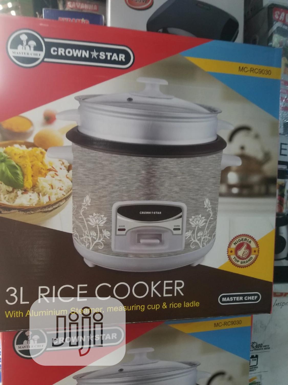Crownstar Rice Cooker 3L