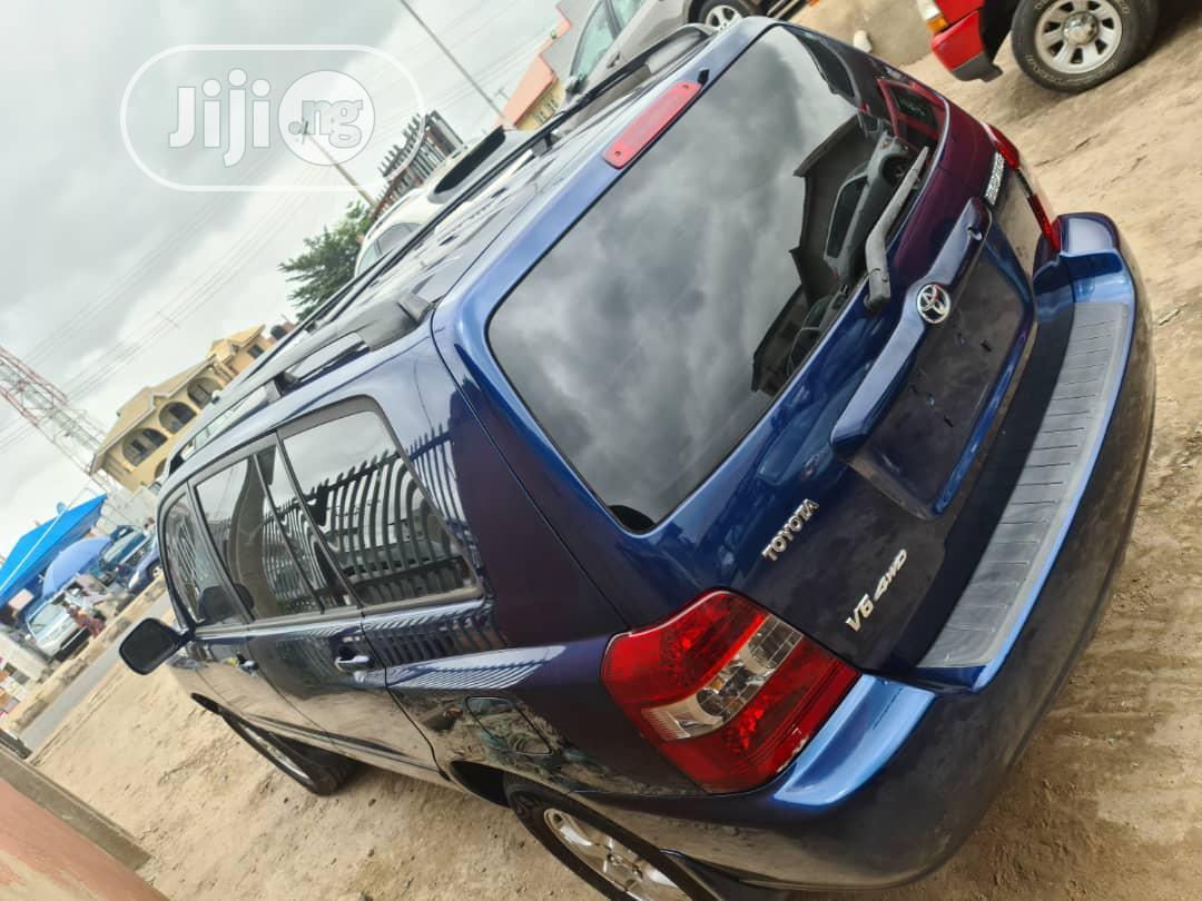 Toyota Highlander 2006 V6 4x4 Blue | Cars for sale in Ibadan, Oyo State, Nigeria