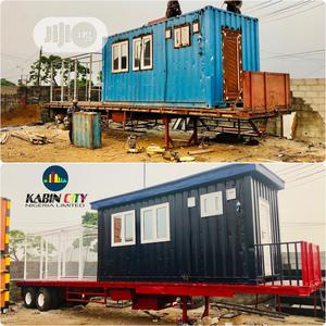 20FT Fully Mobile Caravan / Container Office &Accommodation | Manufacturing Equipment for sale in Rivers State, Port-Harcourt