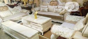 Good Quality Royal Chair With Center Table and Tv Shelf | Furniture for sale in Lagos State, Lekki