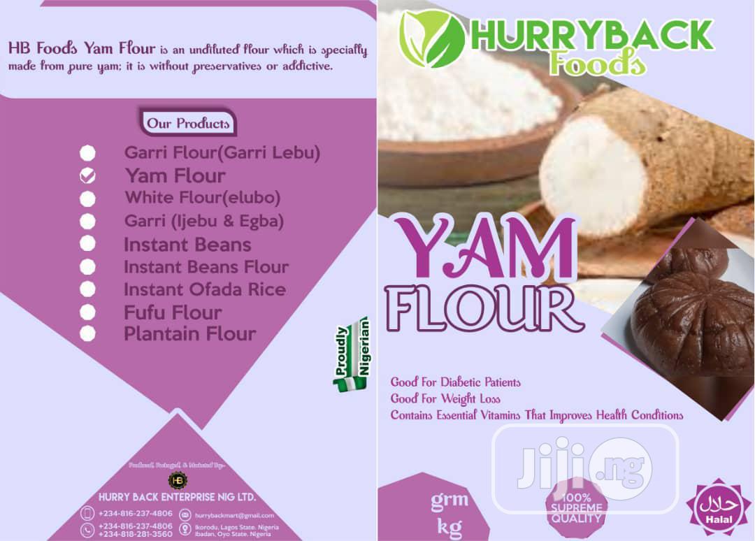 Hurry Back Yam Flour