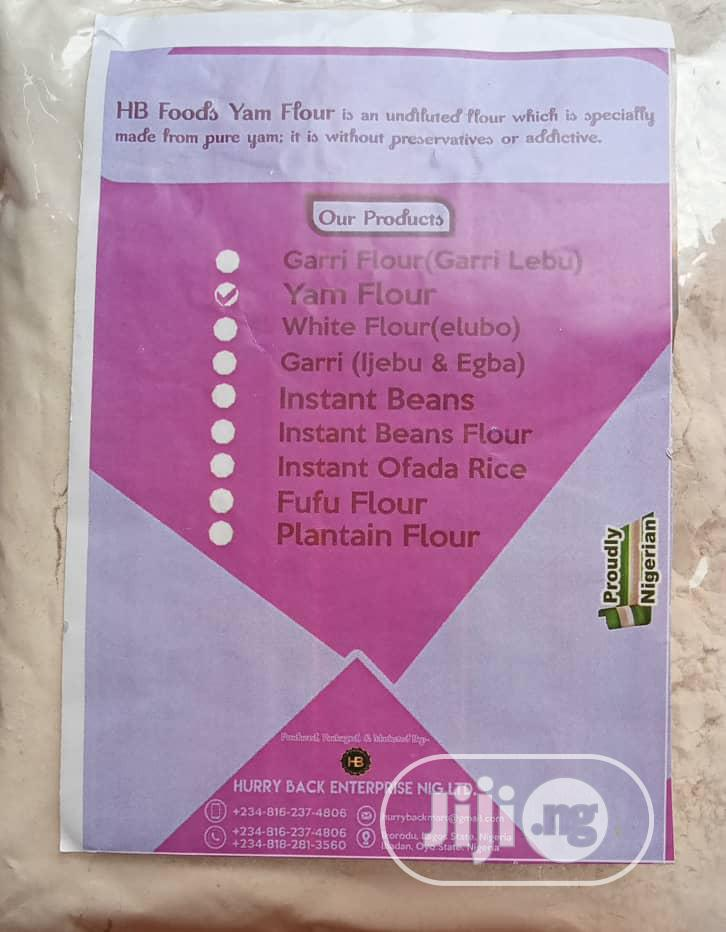 Hurry Back Yam Flour | Meals & Drinks for sale in Akinyele, Oyo State, Nigeria