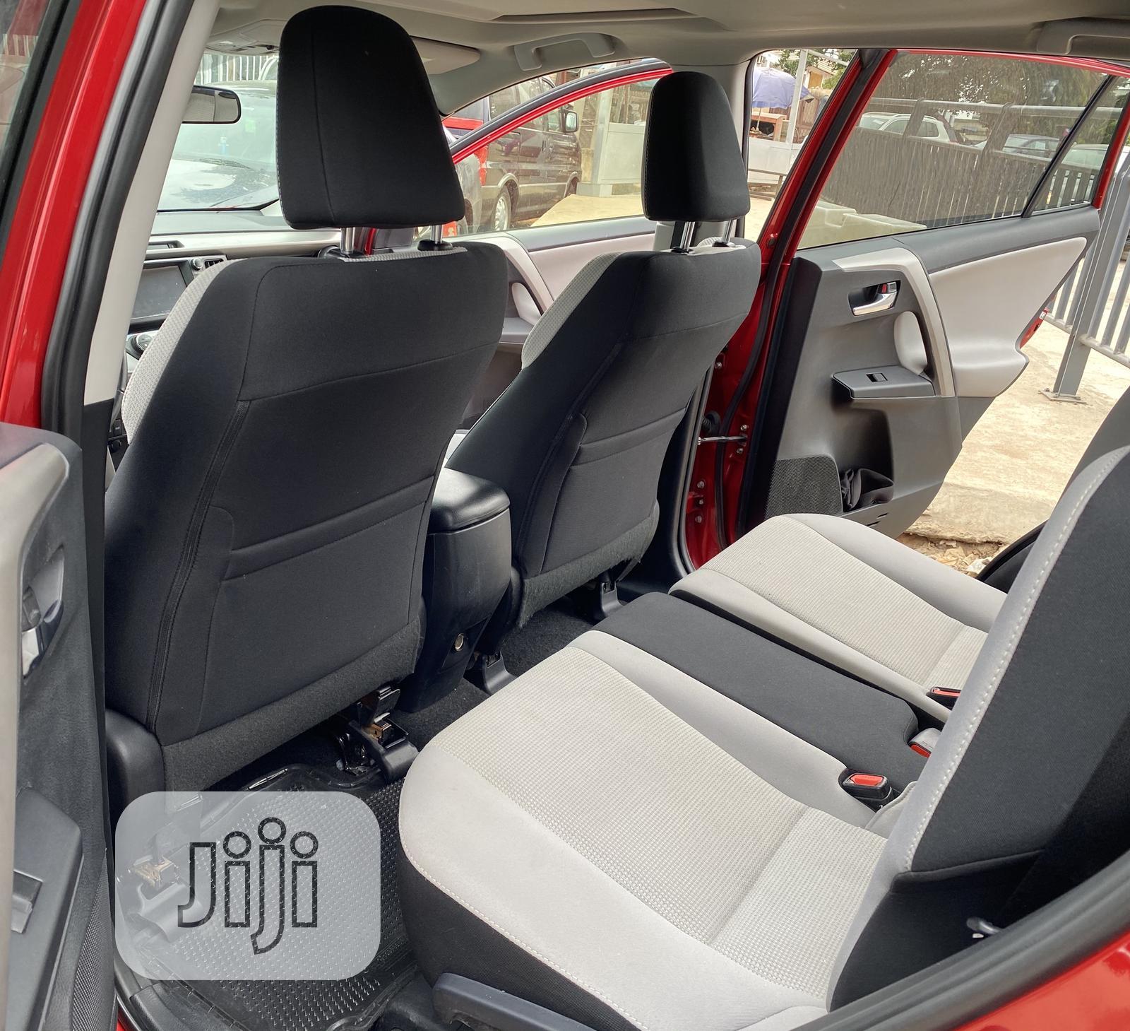 Toyota RAV4 2016 XLE AWD (2.5L 4cyl 6A) Red   Cars for sale in Ojodu, Lagos State, Nigeria