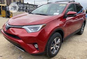 Toyota RAV4 2016 XLE AWD (2.5L 4cyl 6A) Red | Cars for sale in Lagos State, Ojodu