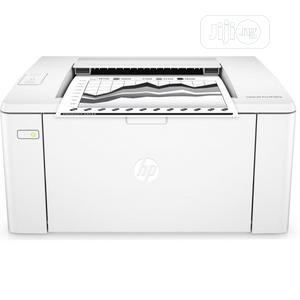Hp Laserjet M107w Monochrome Wireless Printer   Printers & Scanners for sale in Lagos State, Ikeja