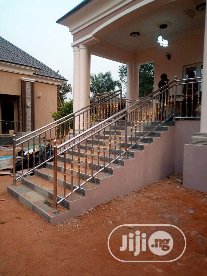 Balustrade And Stainless Handrails