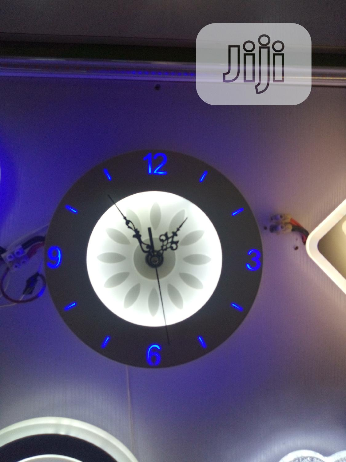 Quality Led Clock Wall Bracket